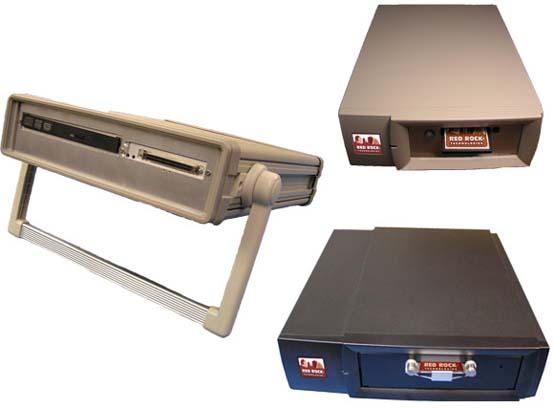 Red Rock Technologies External SCSI drive boxes