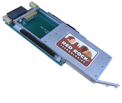 3U VPX PCIe Carrier with Removable Drive Module