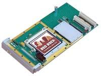 Conduction cooled PMC module with Compact Flash