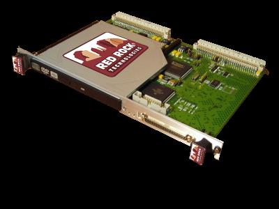 6U VME SCSI DVD