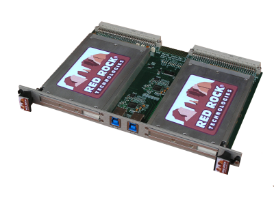 6U VME USB Carrier with Removable Drive Module