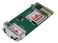 pmc module with fixed or removable compact flash card